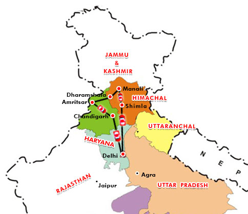 Carte Inde Punjab.Sikhism Sikh Inde Punjab Inde Punjab Tourism Punjab